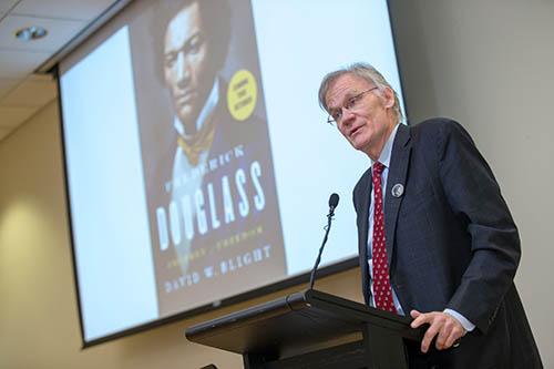 Speaker speaks about Douglass