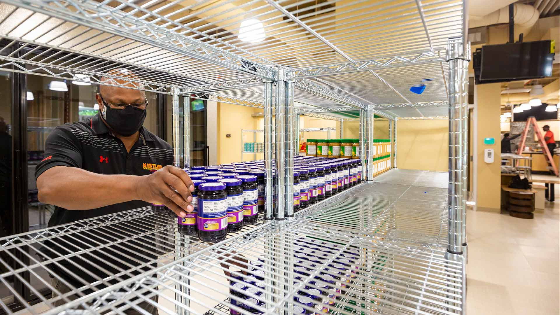 New and Expanded Campus Pantry Opens With Fridge, Freezer and Demo Kitchen