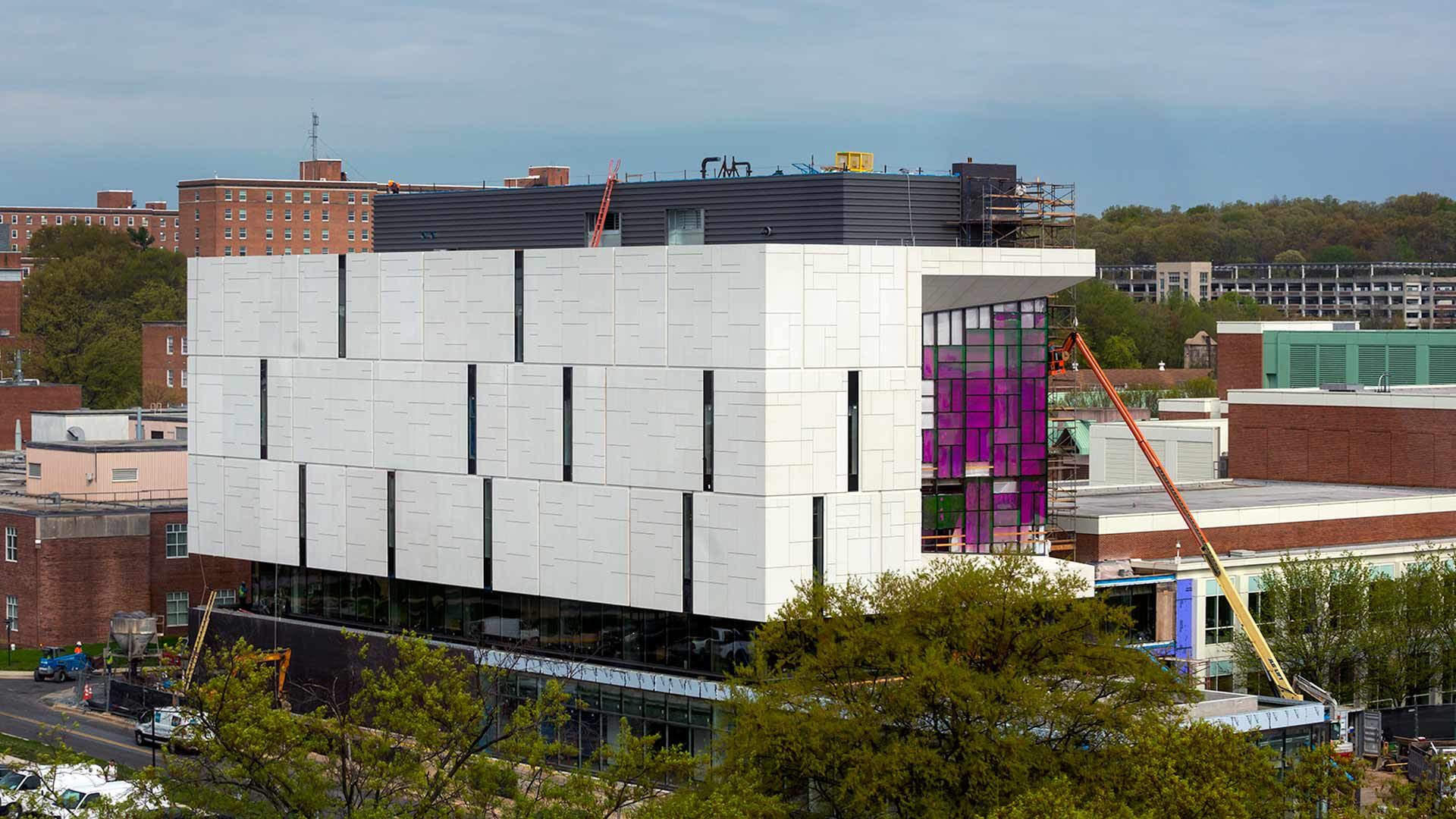 Watch a Behind-the-Fence Tour of the E.A. Fernandez IDEA Factory, Coming Soon to Campus