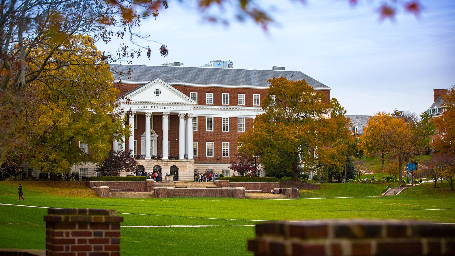 UMD ranked among the top public institutions in influential college rankings this month. (Photo of McKeldin Mall by Stephanie S. Cordle)