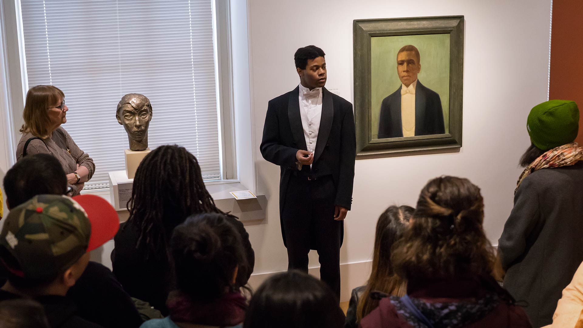 Students Bring Historical Figures to Life at Portrait Gallery