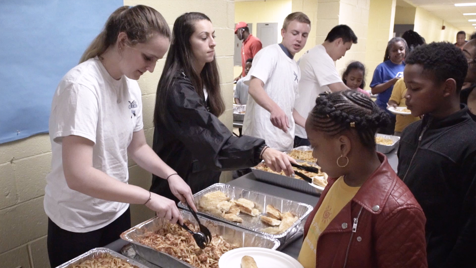 With Donations of Time and Food, UMD Students Help Those in Need